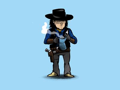 Joe Gage, aka Grouch Douglass movie cinema tarantino western character design characters illustration