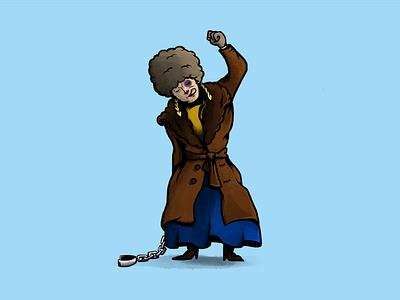 Daisy Domergue cinema movie tarantino western character design characters illustration