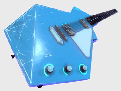 Futuristic Guitar - Grunge Edition