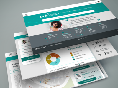 Prodesign Website website minimal flat web app ux ui