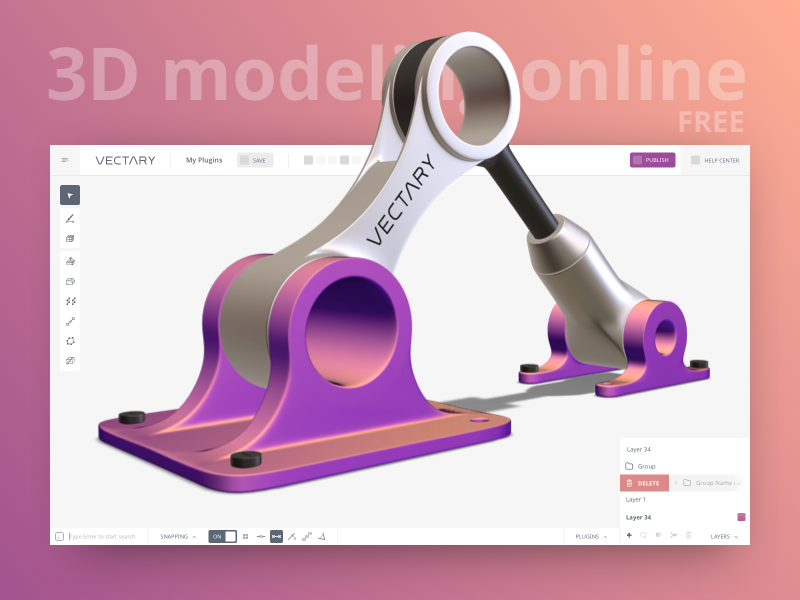 VECTARY — FREE Online 3D modeling tool by Milan Gladiš on