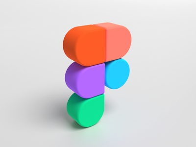 Figma in 3D | Vectary tutorial typo logo photon render 3d figma