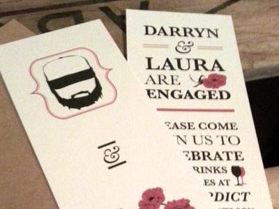 Engagement Invite print invitations engagement