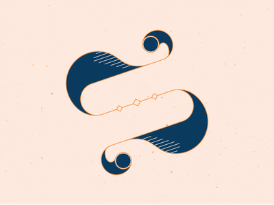 36 Days of Type S letter s hand drawn graphicdesign series typogaphy type typeface handlettering 36 days of type 36daysoftype lettering vector illustrator blue illustration graphic design