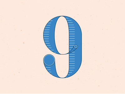 36 Days of Type 9 typogaphy typeface type letters handlettering 36 days of type 36daysoftype illustrator illustration graphic design
