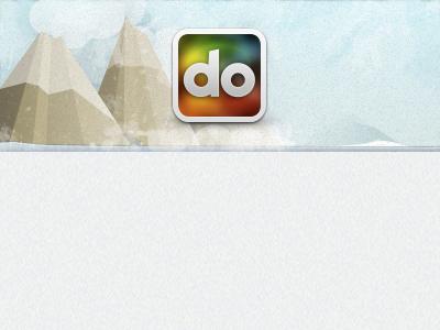 Do Winterized do winter snow marketing header holiday mountain ice cold frozen