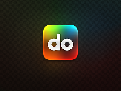 Do for iOS icon ios rainbow colour color productivity app salesforce tasks chat conversation comments feed work android