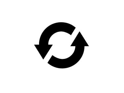Spinning? icon sync spin spinner refresh reload retry