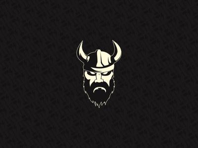 Car repair logo for a viking from Island.
