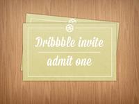 Dribbble invites giveaway x2