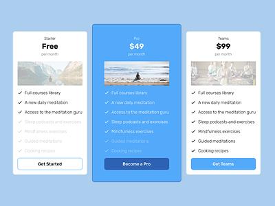 Pricing Plans website design web design webdesign website price list price table prices price pricing pricing plans pricing table pricing plan pricing page layout