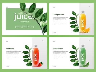 Juice food app food and drink food healthy landing page landing website design website web design webdesign