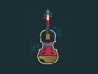 Violin concept
