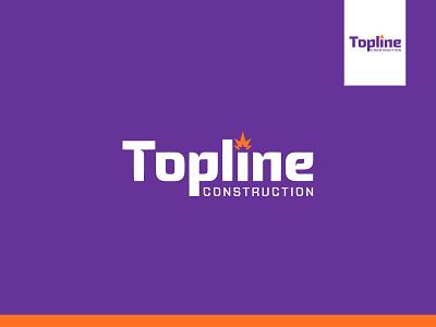 Topline - Wordmark logo. designer logo designer best logo business building company construction company logo construction real estate retailer real estate logo typograpy logo design logo typography mark wordmark