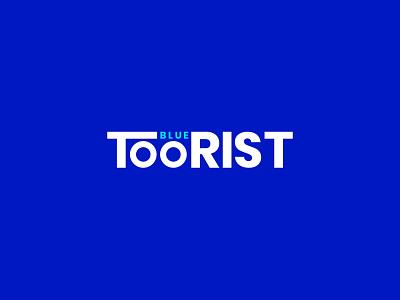 Blue Toorist | Typography logo education logo platform logo social media hand made custom typography text vector design best logo designer brand identity concept branding logo design logo