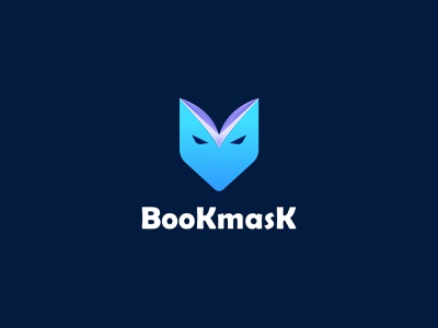 Bookmask logo design unique logo education read books publisher symbol modern logo mask book vector design best logo designer brand identity concept branding logo design logo