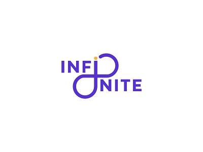Infinite Wordmark logo marks wordmarks lettermark wordmarklogo wordmark vector infinity infinite loop branding best logo designer brand identity logo design logo logotype concept logo designer