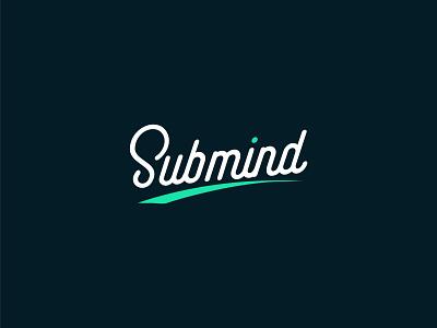SubMind text mark word design best logo designer brand identity concept branding logo design logo typography wordmark subliminal mind