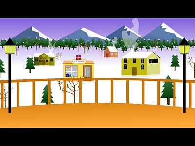 Winter Vector Illustration illustration winter snow vector
