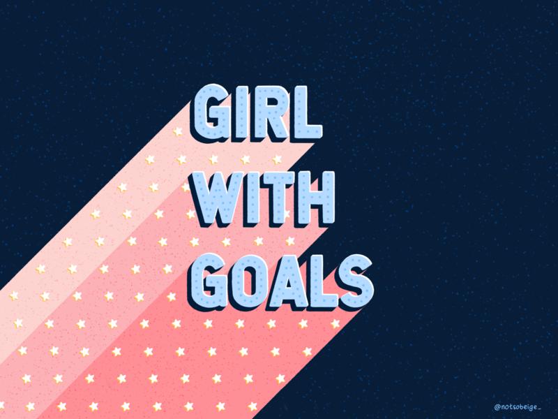 All about that girl power 💁♀️✨ motivation hand drawn illustrator typography hand lettering design art procreate illustration digital art