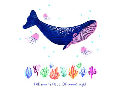 The ocean is full of untamed magic!