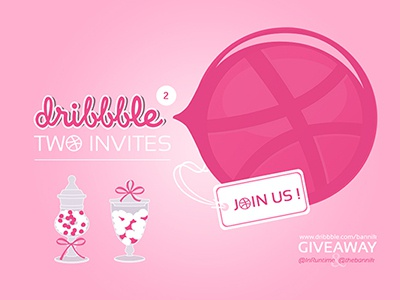 Dribbble Invite Giveaway : I won !