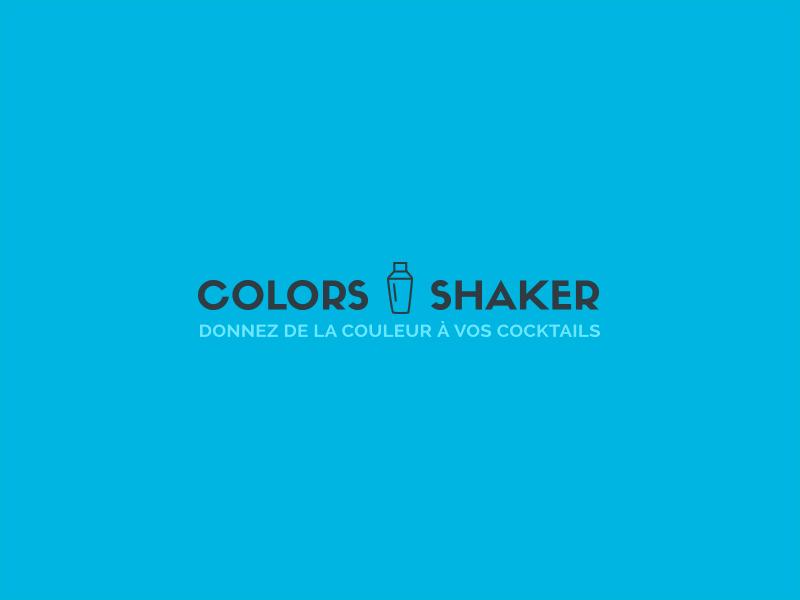Colors Shaker logo cocktails shaker