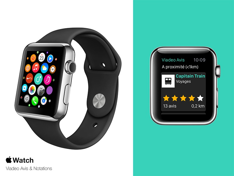 Watchathon Viadeo hackathon viadeo apple watch