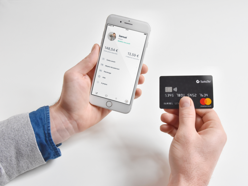 Lunchr card payment credit card card lunchr
