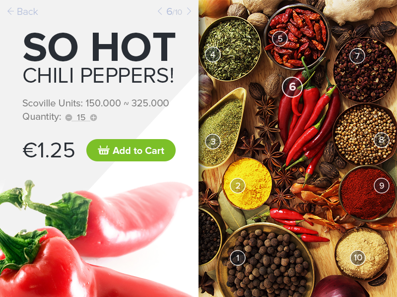 Day 12 - E-Commerce Shop (PSD) free psd free psd chilli shop product price e-commerce uichallenge daily ui ux ui