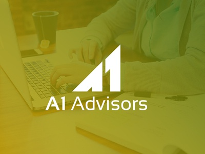 Minimalist Logo Design for A1 Advisors