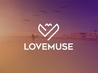 Minimalist Logo Design for LoveMuse