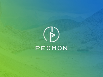 Minimalist Logo Design for PEXMON