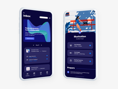 Collab - Team Collaboration App collaboration xd case study ux social minimal ui platform product management product design app
