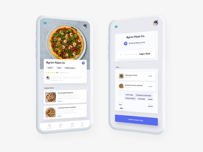 Nosh - Gamified Food Delivery App gamification delivery food xd minimal ux social ui product management product platform design app