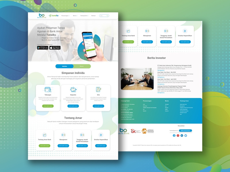 Amar Bank website userinterface userexperience userexperiencedesign webdesign ux ui design web branding ux design ui design