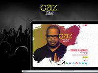 Caz Tatili UI Design - Pages