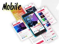 Caz Tatili UI Design - Mobile