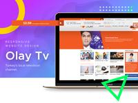 Olay Tv UI Design