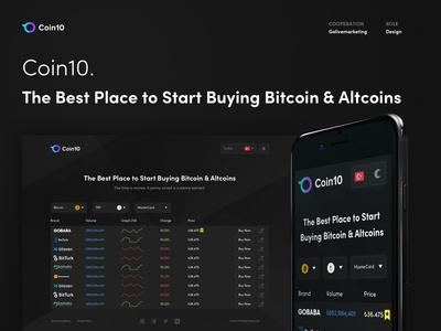 Coin10 - Compare Bitcoin and Altcoins Prices
