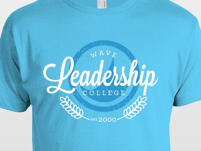 College Shirt wave leadership college