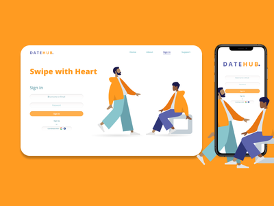 UI Daily Challenge - Day 1/ Sign In design ux graphic design ui