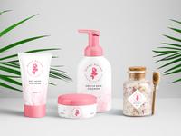 Cosmetics Packaging design