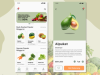 App for Ordering Vegetables and Fruits