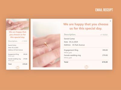 #17 Daily UI - Wedding ring