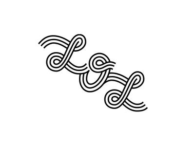 LOL. laugh logo lettering typography lol type