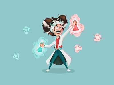Dr. (Mad Scientist) Mario 💊 super mario mario lab coat scientist doctor smash bros smash illustration
