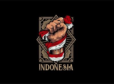 Indonesia tshirt design