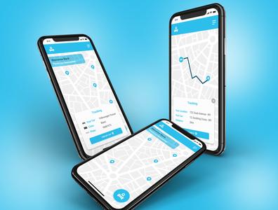 DailyUI 020 daily ui 020 dailyui020 car car tracker tracking mobile app app design design dailyui ux ui