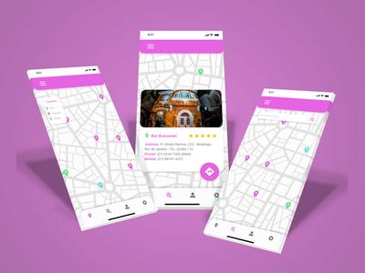 DailyUI 029 maps dailyui 029 dailyuichallenge application map design map mobile app app design design dailyui ux ui